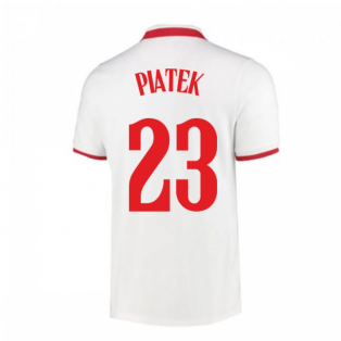 2020-2021 Poland Home Nike Football Shirt (PIATEK 23)