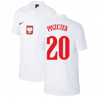 2020-2021 Poland Home Supporters Jersey - Kids (PISZCZEK 20)