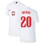 2020-2021 Poland Home Supporters Jersey - Kids (ZIELINSKI 20)