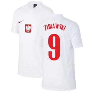 2020-2021 Poland Home Supporters Jersey - Kids (ZURAWSKI 9)
