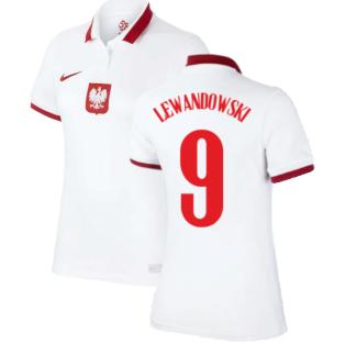 2020-2021 Poland Womens Home Shirt (LEWANDOWSKI 9)