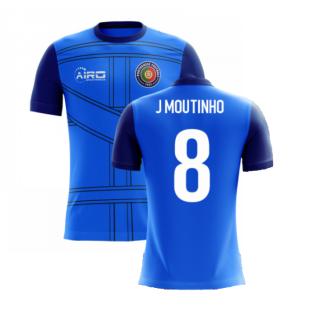 2020-2021 Portugal Airo Concept 3rd Shirt (J Moutinho 8) - Kids