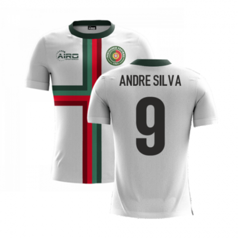 2020-2021 Portugal Airo Concept Away Shirt (Andre Silva 9) - Kids