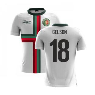 2020-2021 Portugal Airo Concept Away Shirt (Gelson 18) - Kids