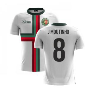 2020-2021 Portugal Airo Concept Away Shirt (J Moutinho 8) - Kids