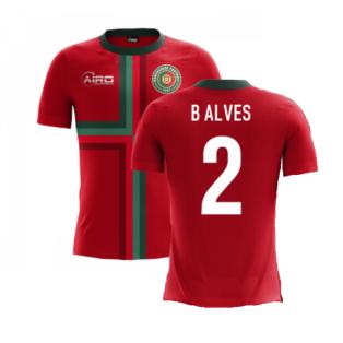 2020-2021 Portugal Airo Concept Home Shirt (B Alves 2) - Kids