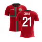 2020-2021 Portugal Airo Concept Home Shirt (Cedric 21) - Kids