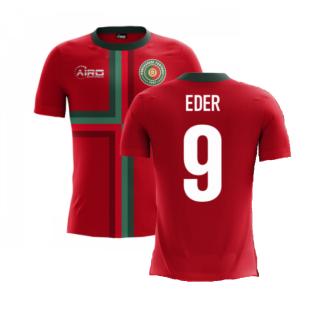 2020-2021 Portugal Airo Concept Home Shirt (Eder 9) - Kids