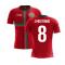 2020-2021 Portugal Airo Concept Home Shirt (J Moutinho 8) - Kids