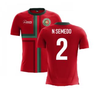 2020-2021 Portugal Airo Concept Home Shirt (N Semedo 2) - Kids