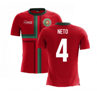 2020-2021 Portugal Airo Concept Home Shirt (Neto 4) - Kids