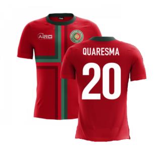 2020-2021 Portugal Airo Concept Home Shirt (Quaresma 20) - Kids