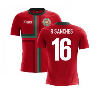 2020-2021 Portugal Airo Concept Home Shirt (R Sanches 16) - Kids