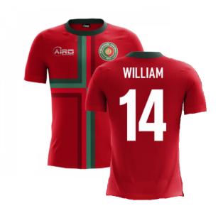 2020-2021 Portugal Airo Concept Home Shirt (William 14) - Kids