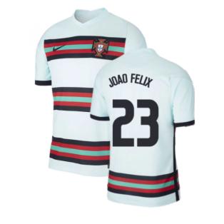 2020-2021 Portugal Away Nike Football Shirt (Joao Felix 23)