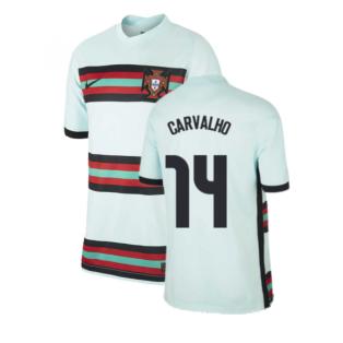 2020-2021 Portugal Away Nike Football Shirt (Kids) (CARVALHO 14)