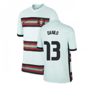 2020-2021 Portugal Away Nike Football Shirt (Kids) (DANILO 13)