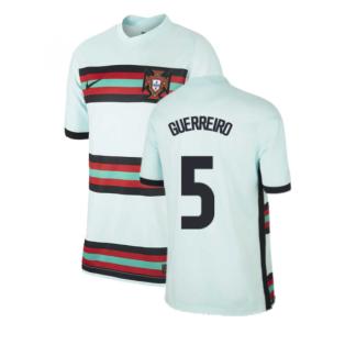 2020-2021 Portugal Away Nike Football Shirt (Kids) (GUERREIRO 5)