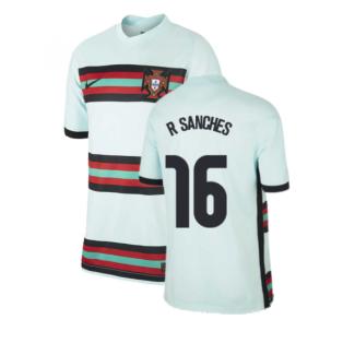 2020-2021 Portugal Away Nike Football Shirt (Kids) (R SANCHES 16)
