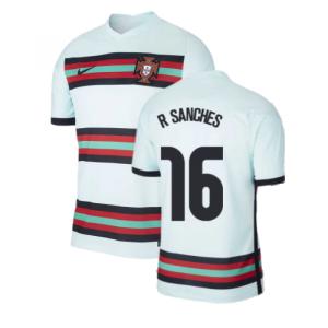 2020-2021 Portugal Away Nike Football Shirt (R SANCHES 16)