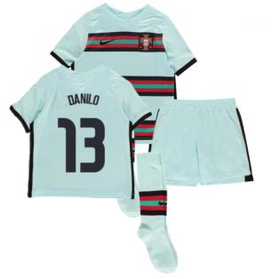2020-2021 Portugal Away Nike Mini Kit (DANILO 13)