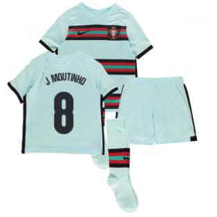 2020-2021 Portugal Away Nike Mini Kit (J Moutinho 8)