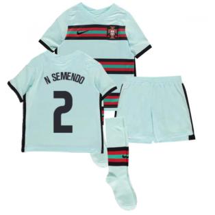 2020-2021 Portugal Away Nike Mini Kit (N SEMENDO 2)