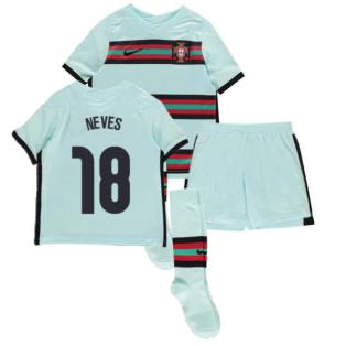 2020-2021 Portugal Away Nike Mini Kit (Neves 18)