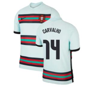 2020-2021 Portugal Away Nike Vapor Match Shirt (CARVALHO 14)