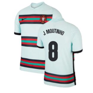 2020-2021 Portugal Away Nike Vapor Match Shirt (J Moutinho 8)