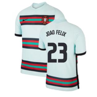 2020-2021 Portugal Away Nike Vapor Match Shirt (Joao Felix 23)