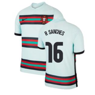 2020-2021 Portugal Away Nike Vapor Match Shirt (R SANCHES 16)
