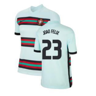 2020-2021 Portugal Away Shirt (Ladies) (Joao Felix 23)