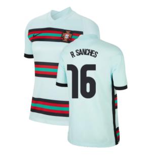 2020-2021 Portugal Away Shirt (Ladies) (R SANCHES 16)