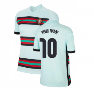2020-2021 Portugal Away Shirt (Ladies) (Your Name)