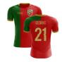 2020-2021 Portugal Flag Home Concept Football Shirt (Cedric 21)