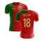2020-2021 Portugal Flag Home Concept Football Shirt (Gelson 18)