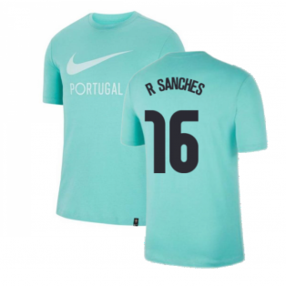 2020-2021 Portugal Ground Tee (Mint) (R SANCHES 16)