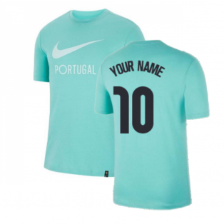 2020-2021 Portugal Ground Tee (Mint) (Your Name)