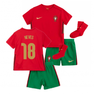 2020-2021 Portugal Home Nike Baby Kit (Neves 18)