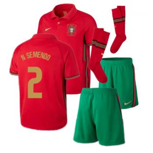 2020-2021 Portugal Home Nike Mini Kit (N SEMENDO 2)