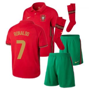 2020-2021 Portugal Home Nike Mini Kit (RONALDO 7)