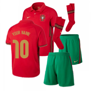 2020-2021 Portugal Home Nike Mini Kit