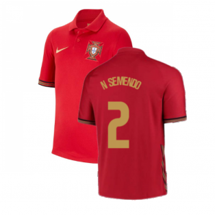 2020-2021 Portugal Home Nike Shirt (Kids) (N SEMENDO 2)