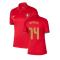 2020-2021 Portugal Home Nike Womens Shirt (CARVALHO 14)