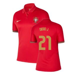 2020-2021 Portugal Home Nike Womens Shirt (DIOGO J 21)