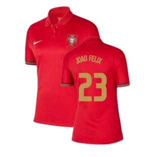 2020-2021 Portugal Home Nike Womens Shirt (Joao Felix 23)
