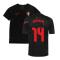 2020-2021 Portugal Pre-Match Training Shirt (Black) - Kids (CARVALHO 14)