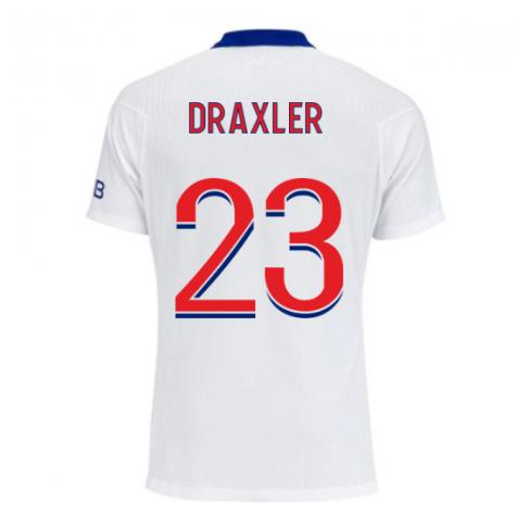2020-2021 PSG Authentic Vapor Match Away Nike Shirt (DRAXLER 23)