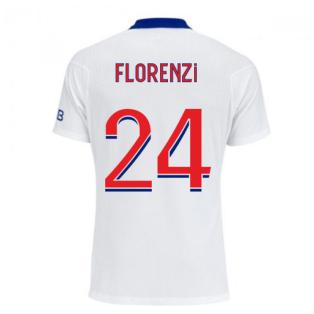 2020-2021 PSG Authentic Vapor Match Away Nike Shirt (FLORENZI 24)